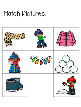Winter Language Arts Binder
