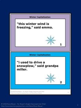 Winter Language Arts Bundle