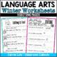 Winter Language Arts Fun Pack {Over 10 Language Arts Skills Covered}