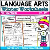 Winter Language Arts Worksheets