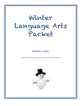 Winter Language Arts Packet