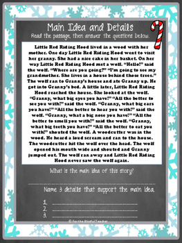 Winter Language Arts REVIEW Packet