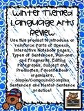 Winter Language Arts Skills Teach & Review (parts of speec