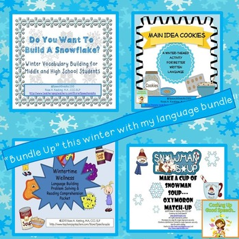 Winter Language Bundle {for older students}