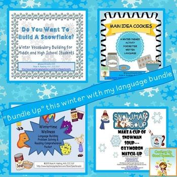 Winter Language Bundle {for older students}