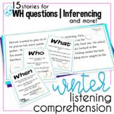 Winter Language Comprehension Packet