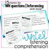 Winter Language Comprehension Packet