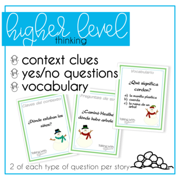 Winter Language Comprehension in Spanish for Speech Therapy