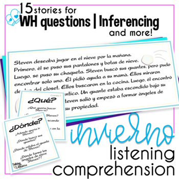 Winter Language Comprehension Spanish