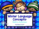Winter Language Concepts: Build a Snowman