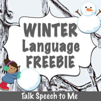 Winter Language FREEBIE
