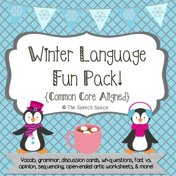 Winter Language Fun Pack - CC Aligned