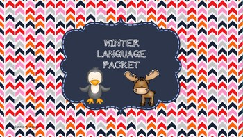 Winter Language Packet