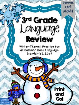 Winter Language Practice L.3.1 a-i