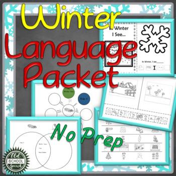 Winter Language Print & Go