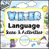 Winter Language Scene Speech Therapy