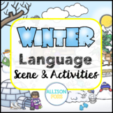 Winter Language Scene Speech Therapy