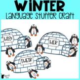 Winter Language Stuffer Craft