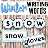 Winter Language: Winter  Word, Montessori 3 part cards, sn
