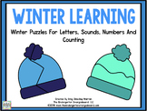 Winter Learning: Letters, Sounds, Numbers & Counting