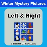 Winter: Left & Right side - Color by Emoji - Mystery Pictures