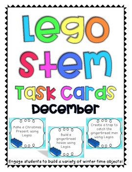 Winter Lego Task Cards