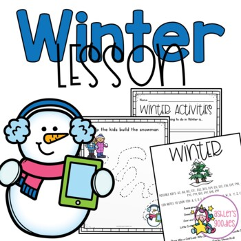 Winter Preschool Lesson Plan (Highscope)