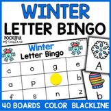 Winter Letter Bingo