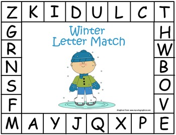 Winter Letter Match