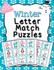 Winter Letter Match Puzzles Bundle