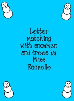 Winter Letter Matching