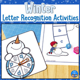 Winter Letter Recognition Activities