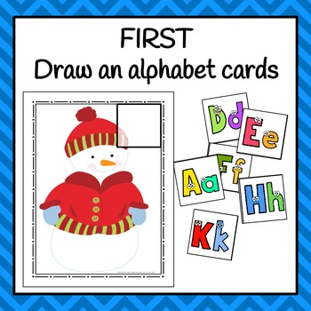 Winter Letter Sorting Activity