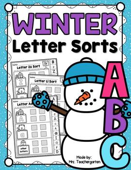 Winter Letter Sorts