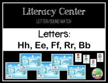 Winter Center  ✻  Letter Recognition