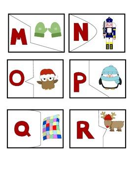 Winter Phonemic Awareness Puzzle