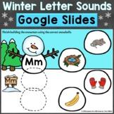 Winter Letter Sounds Beginning Sounds Google Classroom Dig
