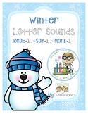 Winter Letter Sounds Read-It Say-It Mark-It