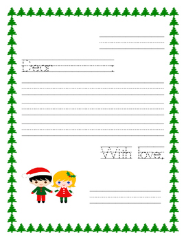 Winter Letter/ Writing