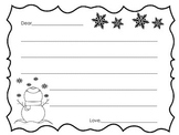 Winter Letter Writing Paper