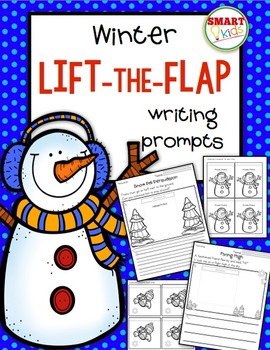 Winter Lift-the-Flap Writing Prompts