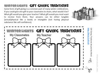 Winter Holiday Celebrations/Traditions Differentiated Activities 2-Pack