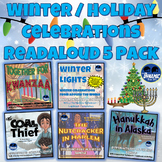 Winter Holiday Celebrations Differentiated Reading Activities 5 Pack