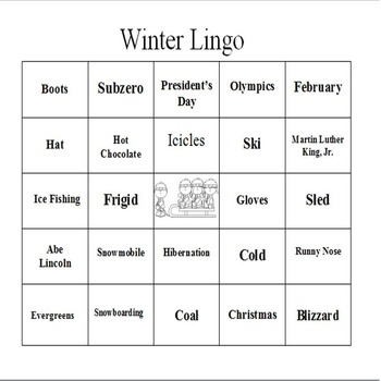 Winter Lingo - An Expressive Language Game