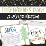 Winter Listen/Read & Draw Visualization Strategy Activity