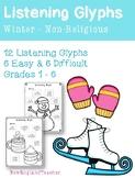 Winter Listening Glyphs for Elementary Music Classroom