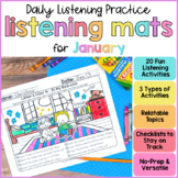 Listening Activities for January