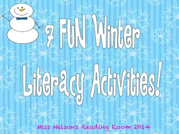 Winter Activities!  7 Activities Included!  NWF, PSF, CVC and MORE!