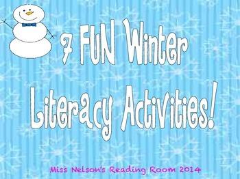 Winter Activities!  7 Fun Activities Included!  NWF, PSF,