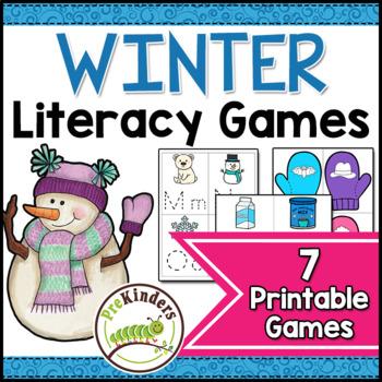 Winter Literacy Activities Pack